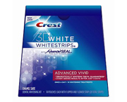 CREST WHITESTRIPS 3D WHITE ADVANCED VIVID: EFECTO PROLONGADO